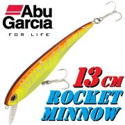 Abu Garcia Rocket Minnow Wobbler 13cm Tiger Suspending