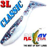 Relax Kopyto 3L Classic 3 Gummifisch 8cm Firecracker Softbait