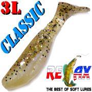 Relax Kopyto 3L Classic 3 Gummifisch 8cm Perl Sand Glitter Softbait