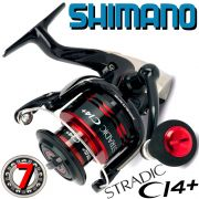 Shimano Stradic CI4+ 3000FA Stationärrolle 6+1 Lager 200g 210m/0,25mm 6,0:1 Übersetzung
