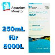 Aquamor Multi Lösung 250mL für 5000L Universalarzneimittel für Koi & Gartenteiche Made in Germany Qualität since 1926