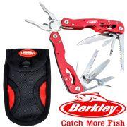 Berkley Fishing Multi Tool 7 Multifunktionstool Stainless Steel für Angler mit 13 Funktionen