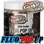 Berkley Gulp! Carp Fluo Pop Ups 100g 20mm Irish Cream Karpfenköder Floating Boilie