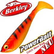 Berkley Power Bait Pulse Shad Gummifisch 14cm Orange Black 2016 / 3 Stück im Set NEU 2016
