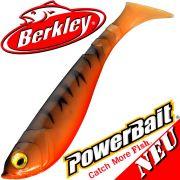Berkley Power Bait Pulse Shad Gummifisch 14cm Tiger Prawn 2016 / 3 Stück im Set NEU 2016