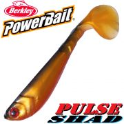 Berkley Power Bait Pulse Shad Gummifisch 6cm Gold Rush
