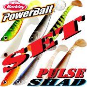 Berkley Power Bait Pulse Shad Gummifisch Set 6cm 8 Farben a 1 Stück = 8 Stück im Set Forelle & Barsch