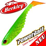 Berkley Power Bait Ripple Shad 3,5 Gummifisch 9cm Limetreuse 5 Stück im Set NEU 2016
