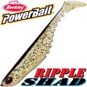 Berkley Power Bait Ripple Shad 3,5 Gummifisch 9cm Natural 5 Stück im Set Barsch & Zanderköder