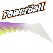 Berkley Power Bait Ripple Shad 3,5 Gummifisch 9cm Purple Chartreuse 5 Stück im Set Barsch & Zanderköder