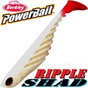 Berkley Power Bait Ripple Shad 3,5 Gummifisch 9cm White 5 Stück im Set Barsch & Zanderköder