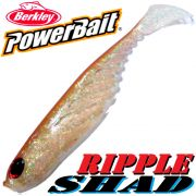 Berkley Power Bait Ripple Shad 3 Gummifisch 7cm Ghost Brown