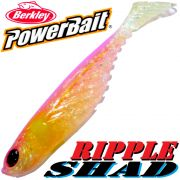 Berkley Power Bait Ripple Shad 3 Gummifisch 7cm Ghost Pink