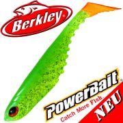Berkley Power Bait Ripple Shad 4 Gummifisch 11cm Limetreuse 5 Stück im Set NEU 2016