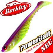 Berkley Power Bait Ripple Shad 4 Gummifisch 11cm Purple Chartreuse 1 Stück NEU 2016