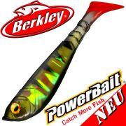 Berkley Powerbait Pulse Shad 4 Gummifisch 11cm Perch 2016 / 5 Stück im Set NEU 2016