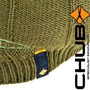 Chub Rib Beanie Mütze mit Thermatex 300 Wärmeisolierung für Freizeit, Outdoor & Angeln Wintermütze