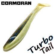 Cormoran K-Don Turbo Tail Gummifisch 16cm Farbe Blue Flitter 3 Stück im Set