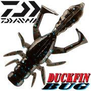 Daiwa Duckfin Bug Gummikrebs mit 2 Schaufelschwänzen 5cm Farbe Black & Blue 1 Stück Aromatisiert!