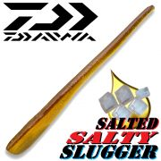 Daiwa Salty Slugger 4,25 Pintail Softlure 10,8cm mit Fischaroma & gesalzen Farbe Wakasagi Barsch & Zanderköder