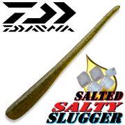 Daiwa Salty Slugger 4,25 Pintail Softlure 10,8cm mit Fischaroma & gesalzen Farbe Water Melon Barsch & Zanderköder