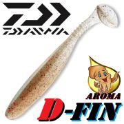 Daiwa Tournament D-Fin 3 Gummifisch 7,6cm Farbe Roach 10 Stück im Set Tintenfisch-Aroma