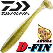 Daiwa Tournament D-Fin Gummifisch 4 10,2cm Farbe Ayu mit Tintenfischaroma 1 Stück Zanderköder