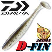 Daiwa Tournament D-Fin Gummifisch 4 - 10,2cm Farbe Pro Blue 1 Stück mit Tintenfisch-Aroma