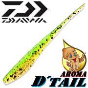 Daiwa Tournament D-Tail Pintail-Shad 4 - 10,2cm Farbe Chartreuse-Ayu mit Tintenfischaroma No-Action-Shad für Barsch&Zander