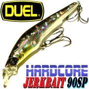 DUEL Hardcore Jerkbait 90SP Farbe HSM 90mm 7,5g Suspending Tauchtiefe 1-1,5m Barsch&Zanderköder