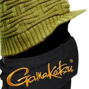 Gamakatsu Fleece Neck Warmer Sturmkragen Halsschutz Wärmeisolierung für Freizeit, Outdoor & Angeln