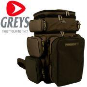 Greys Prodigy Tackle Base Rucksack Gewicht 1400g Größe 60X45X35cm Size Large Soft Comfort Tragesystem