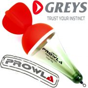 Greys Prowla Supa Sight Dart Raubfischpose Segelpose Tragkraft 20g ideal als Köderfischpose fürs Hecht und Welsangeln