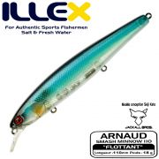 Illex Arnaud 110F Wobbler Floating 18g Farbe HS Quarter Magic by Seiji Kato