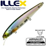 Illex Arnaud 110F Wobbler Floating 18g Farbe Ghost Minnow by Seiji Kato