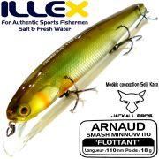 Illex Arnaud 110F Wobbler Floating 18g Farbe SG Ayu Design by Seiji Kato