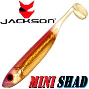 Jackson Mini Shad Gummifisch 2,8 ca. 7cm Farbe Pretty Pink 1 Stück Forellen & Barschköder