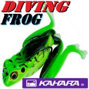 Kahara Diving Frog tauchender Gummifrosch ca. 60mm 17,2g Farbe Bull Frog Top Hechtköder