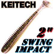 Keitech Swing Impact 2 Gummifisch 5,5cm Bluegill Flash # 205 12 Stück