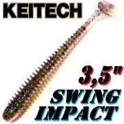Keitech Swing Impact 3,5 Gummifisch 8,5cm Bluegill Flash 8 Stück