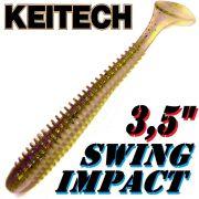 Keitech Swing Impact 3,5 Gummifisch 8,5cm Electric Shad 8 Stück