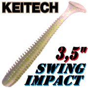 Keitech Swing Impact 3,5 Gummifisch 8,5cm Sexy Shad 8 Stück