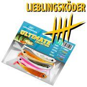 Lieblingsköder Shad 3 Gummifisch 7,5cm Farbe Ultimate Collection 5 Stück im Set / 5 Farben!
