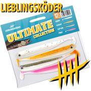 Lieblingsköder Shad 5 Gummifisch Set Ultimate Collection 12,5cm 4 Farben a 1 Stück = 4 Stück im Set