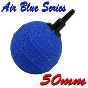 Luftausströmer Luftstein Belüfterstein Blau 50mm Durchmesser ideal zur Teichbelüftung
