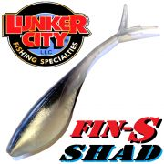 Lunker City Fin-S Shad 3.25 V-Tailshad ca. 8,5 cm Farbe Alewife 3.25 10 Stück im Set DS-Köder
