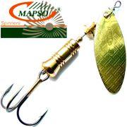 Mapso Spinner Nansa Größe 3 Gewicht 7,5g Farbe Gold Spinnköder 1 Stück