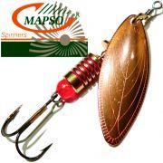 Mapso Spinner Spark Größe 2 Gewicht 7g Farbe Kupfer Spinnköder 1 Stück