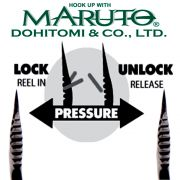Maruto Razor Point Semi Barbless SB-36 Drillinge Schonhaken Gr.8 / 8 Stück Farbe Gunsmoke