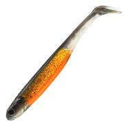 Nories Spoontail Shad 6 ca. 152mm Gummifisch Farbe Smoke Orange 5 Stück Gummiköder Swimbait